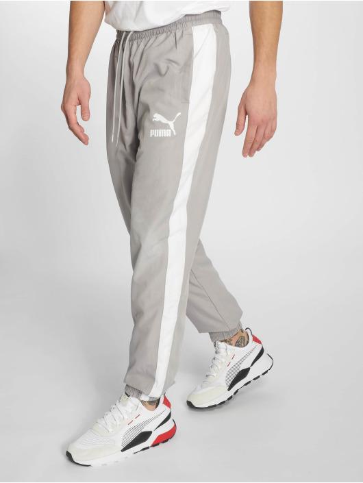 Puma Спортивные брюки Iconic T7 серый