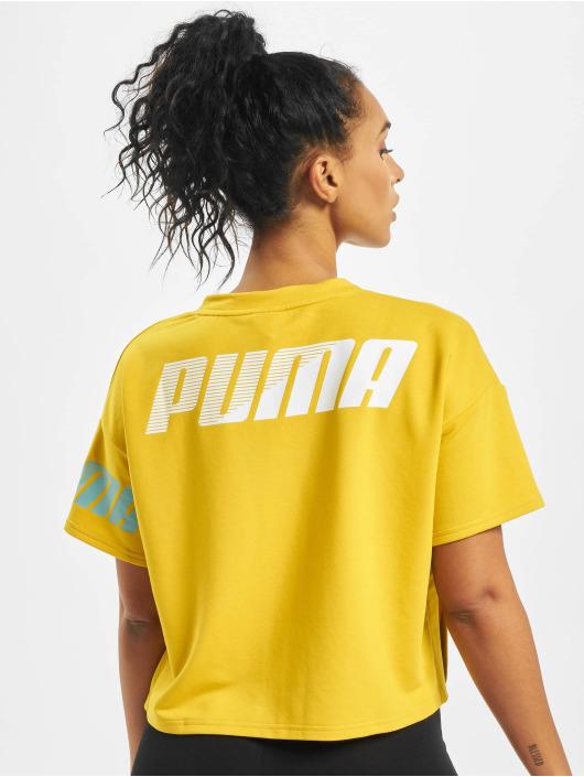 Puma Футболка Modern Sport Sweat желтый