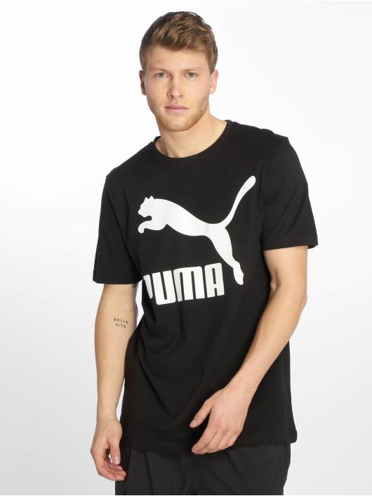 Puma Футболка Classics Logo черный