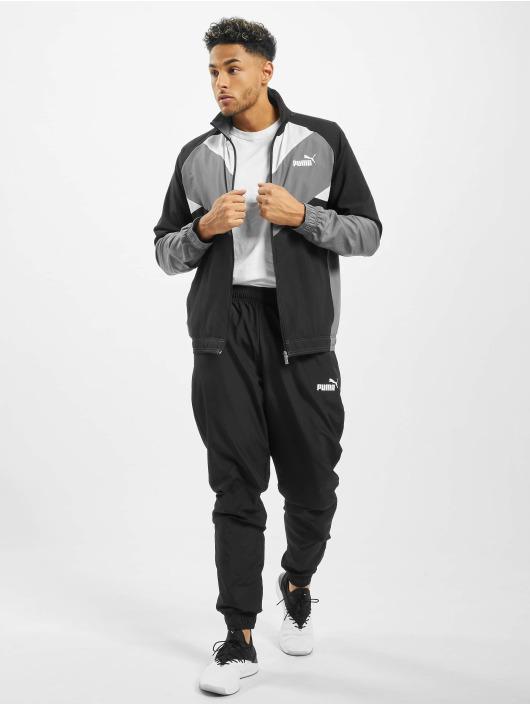 Puma Anzug Retro Woven schwarz