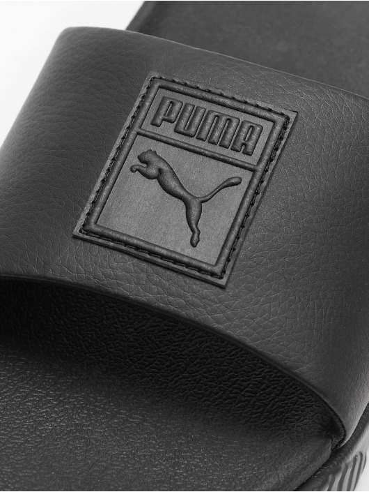Puma Badesko/sandaler Platform Slide svart