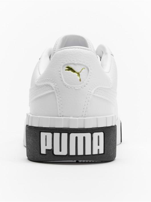 Femme Cali M8ownv0n Blanc Puma Baskets YWED2H9I