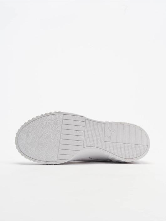 Puma Baskets Cali Velcro X SG blanc