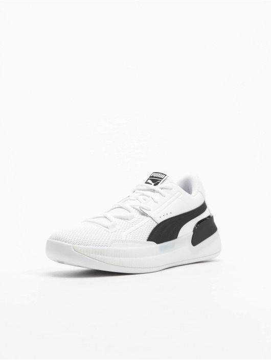 Puma Baskets Clyde Hardwood Team blanc