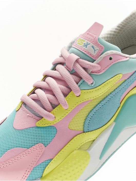 Puma RS X³ Plastic Sneakers Gulf StreamSunny Lime