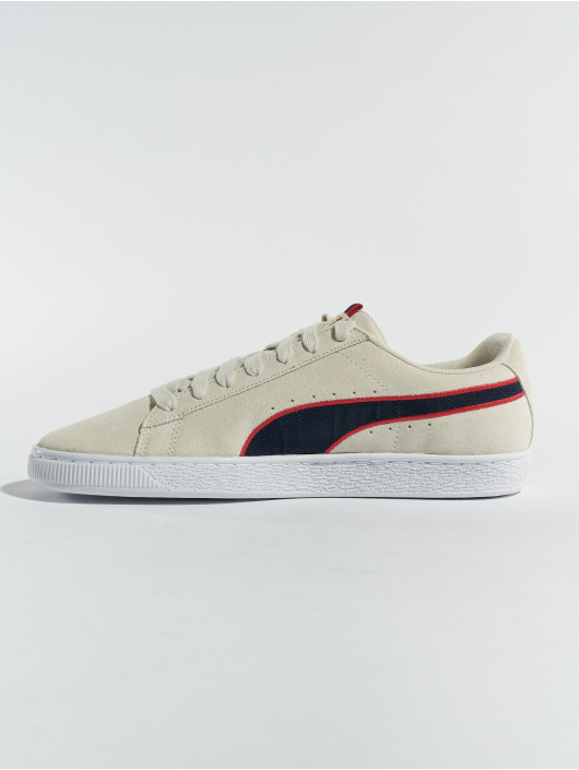 Puma Baskets Suede Classic Sport Stripes gris