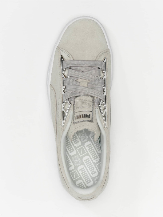 Puma Baskets Suede Jewel Metalic gris
