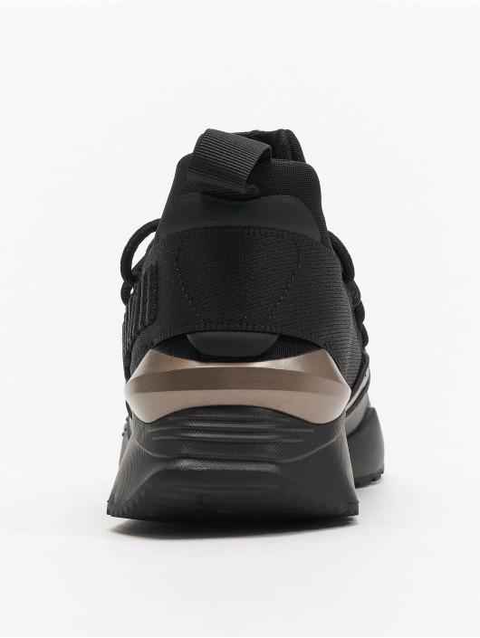 Puma Baskets Muse Maia Luxe noir