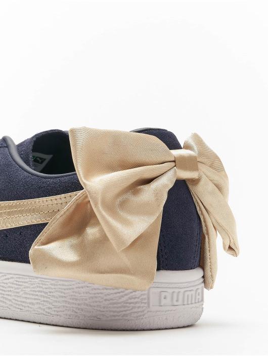 Puma Baskets Suede Bow Varsity noir