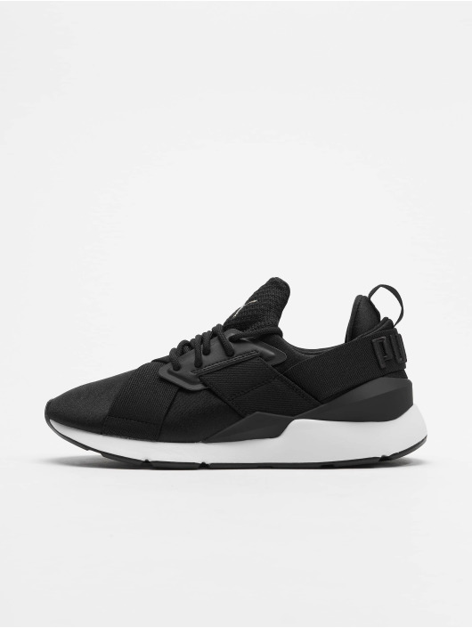 Puma Baskets Satin Ep noir