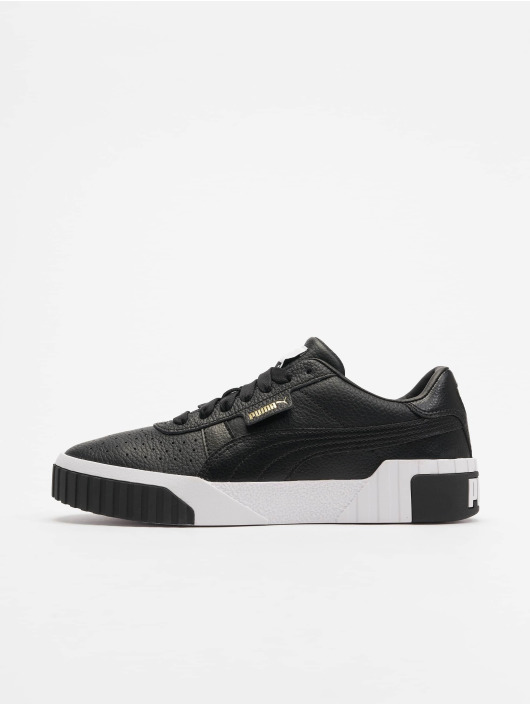 Puma Blackpuma Cali White Women's Sneakers XOZPwTkiu