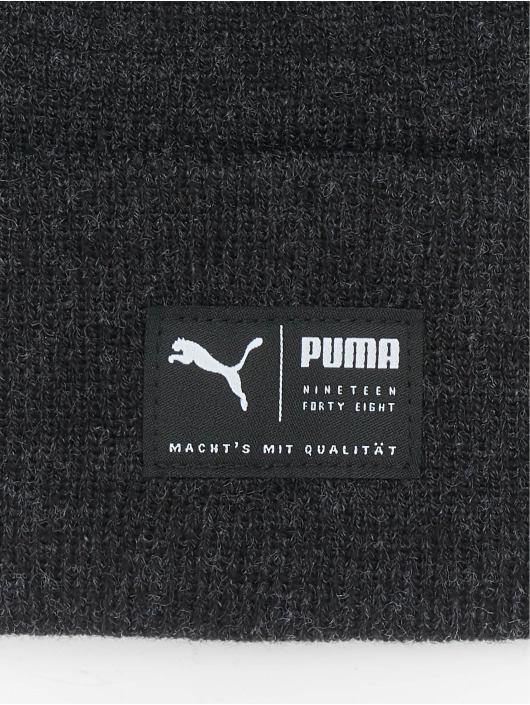 Puma Beanie Archive Heather black