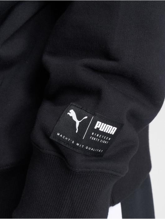 Puma Bluzy z kapturem Downtown Oversize czarny