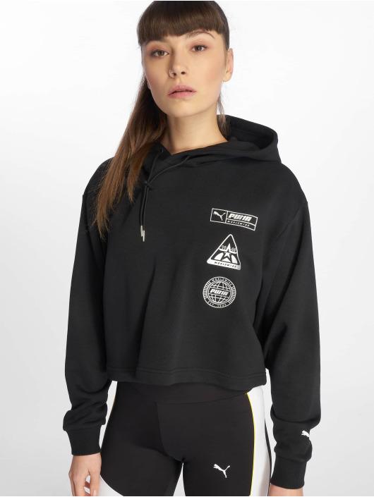 Puma Bluzy z kapturem TZ czarny