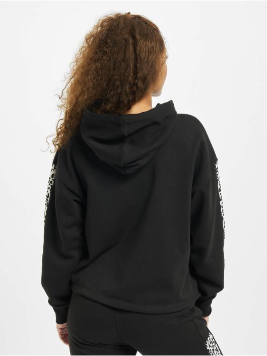 Puma Bluzy z kapturem Cropped czarny