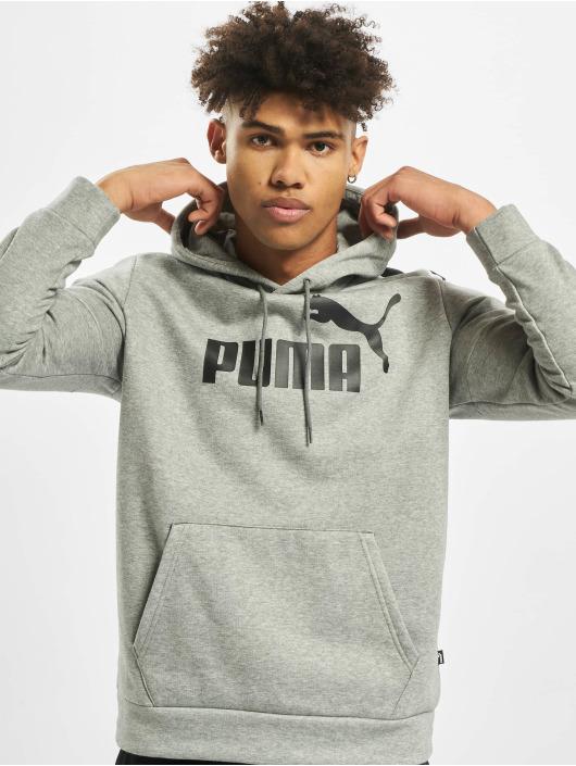 Puma Bluzy z kapturem Amplified szary