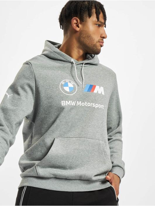 Puma Bluzy z kapturem BMW MMS Fleece szary