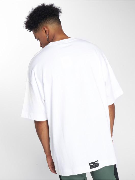 Puma Camiseta Downtown blanco