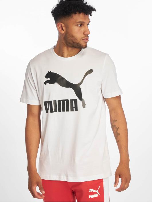 Puma Camiseta Logo blanco