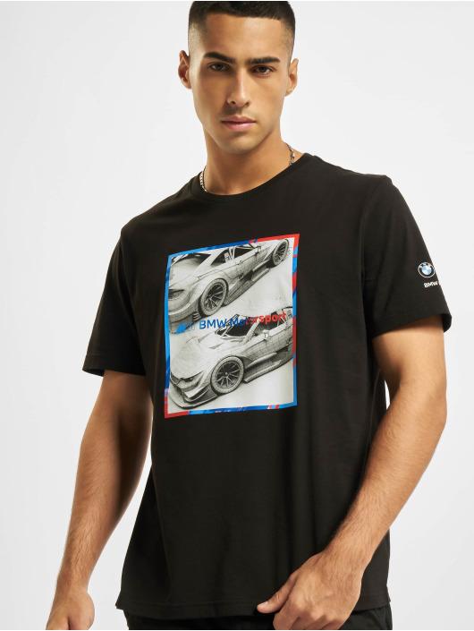 Puma Camiseta BMW MMS Logo Graphic negro
