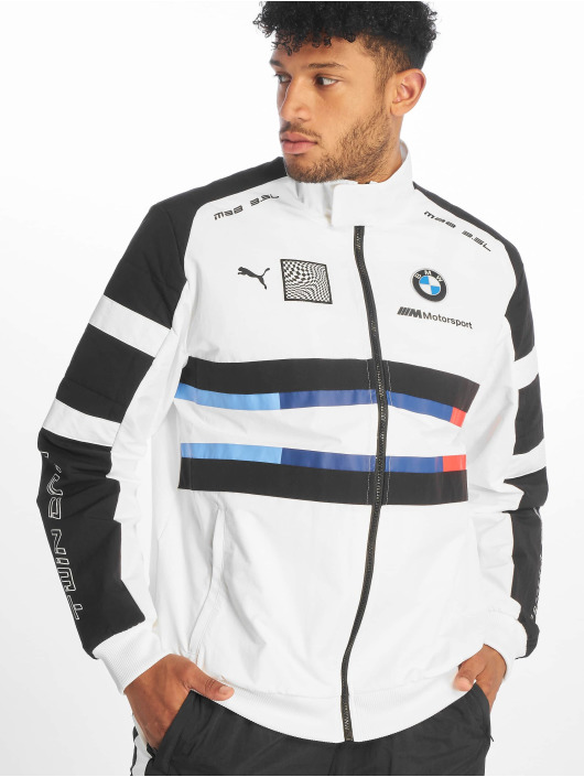 Puma Chaqueta de entretiempo BMW MMS Street Woven blanco