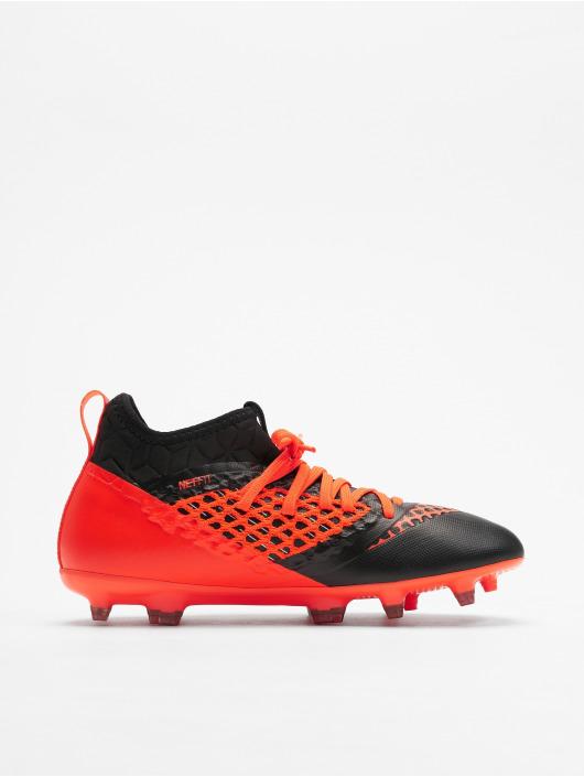 Puma Chaussures d'extérieur Future 2.3 Netfit FG/AG JR Soccer noir
