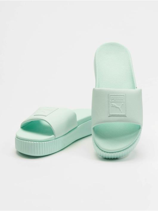 Puma Claquettes & Sandales Platform Slide turquoise