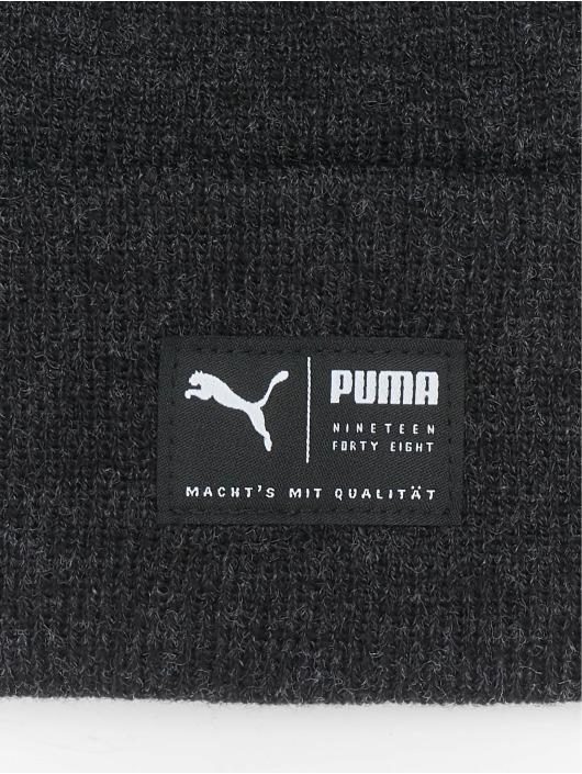 Puma Czapki Archive Heather czarny