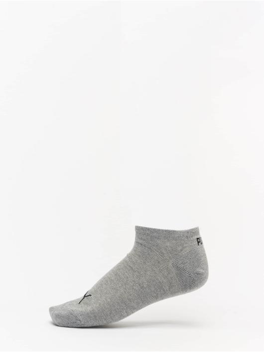 Puma Dobotex Calcetines 3 Pack Sneaker Plain gris