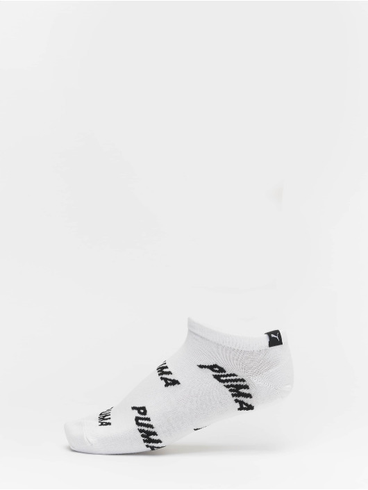 Puma Dobotex Chaussettes All Over Logo 2 Pack blanc