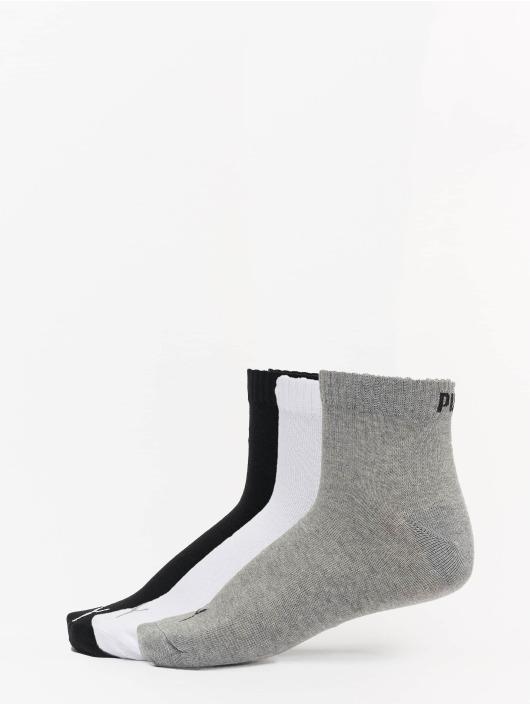Puma Dobotex Chaussettes 3 Pack Quarter Plain gris