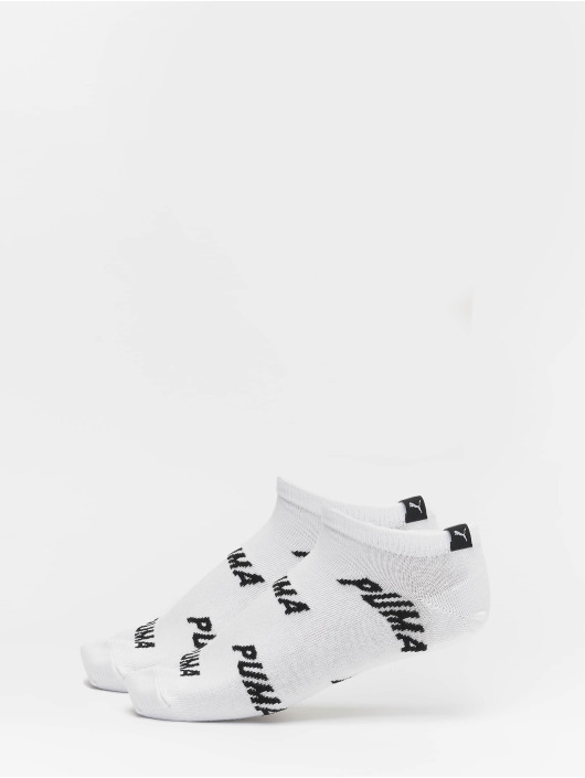 Puma Dobotex Ponožky All Over Logo 2 Pack bílý