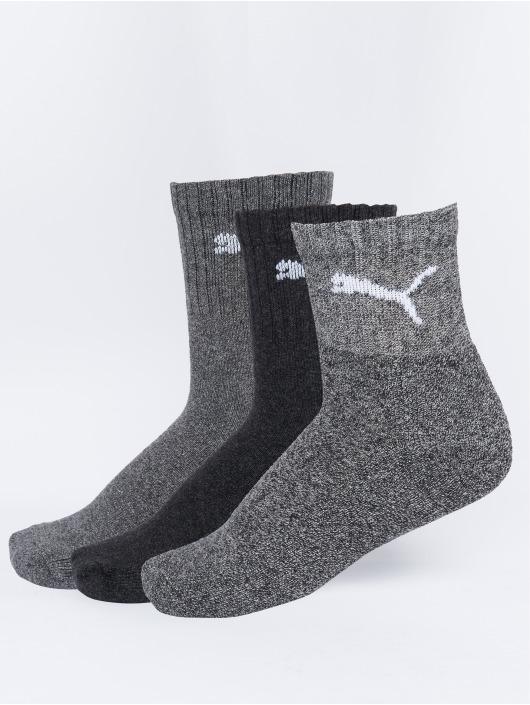 Puma Dobotex Socks Short Crew 3P Unisex grey