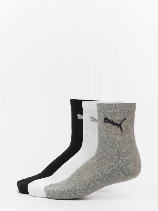 Puma Dobotex Socks 3 Pack Short Crew grey
