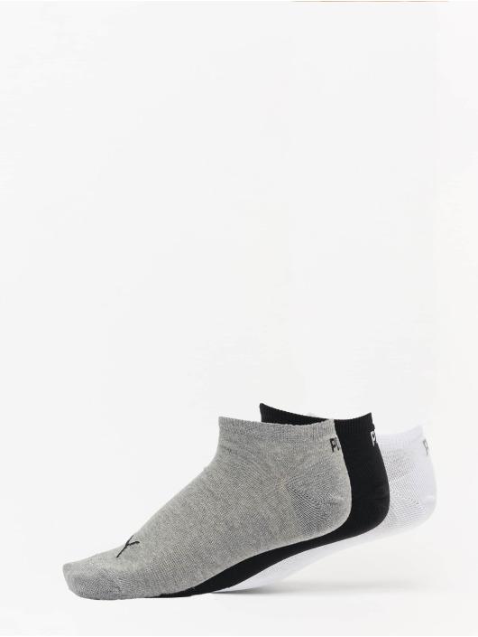 Puma Dobotex Socks 3 Pack Sneaker Plain grey