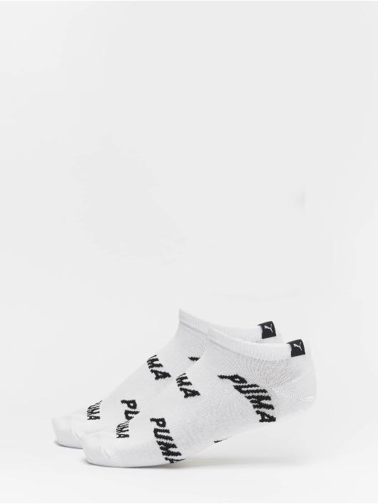 Puma Dobotex Sukat All Over Logo 2 Pack valkoinen
