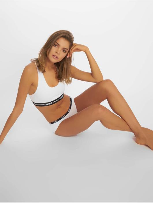 Puma Dobotex Underwear Iconic Hipster 2P white