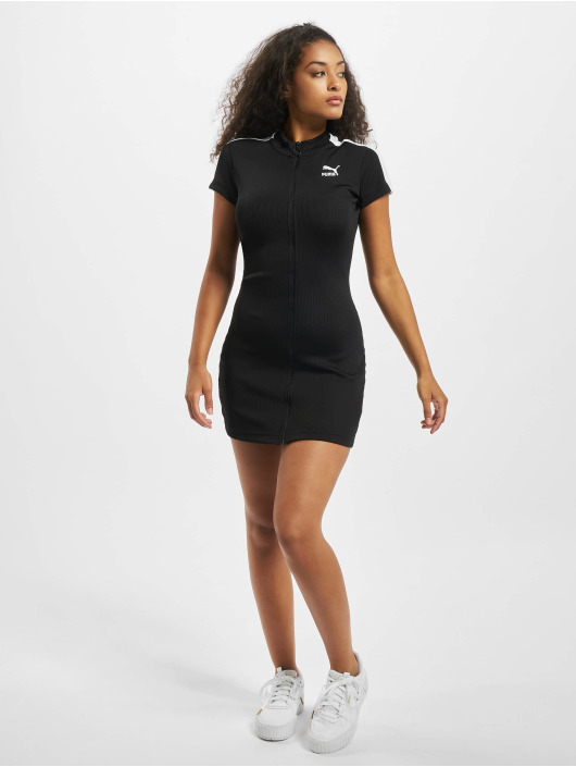Puma Dress Ribbed Tight black