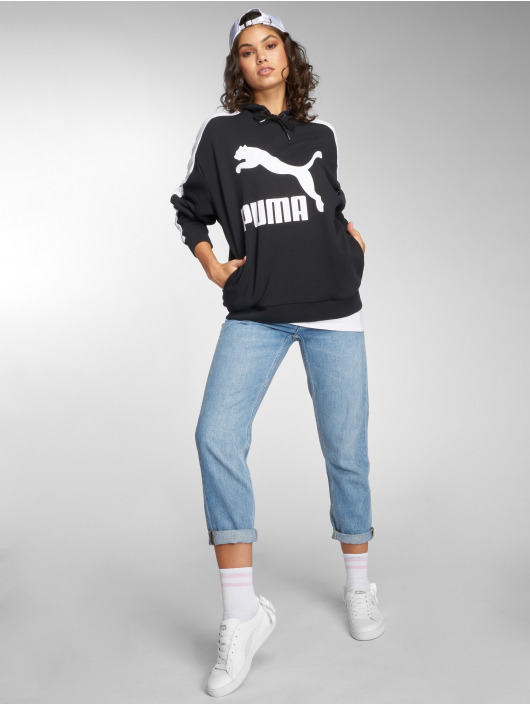Puma Hoodie Classics Logo T7 black