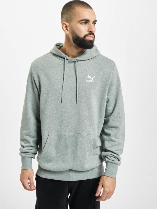 Puma Hoodie Classics Logo Embroidery gray