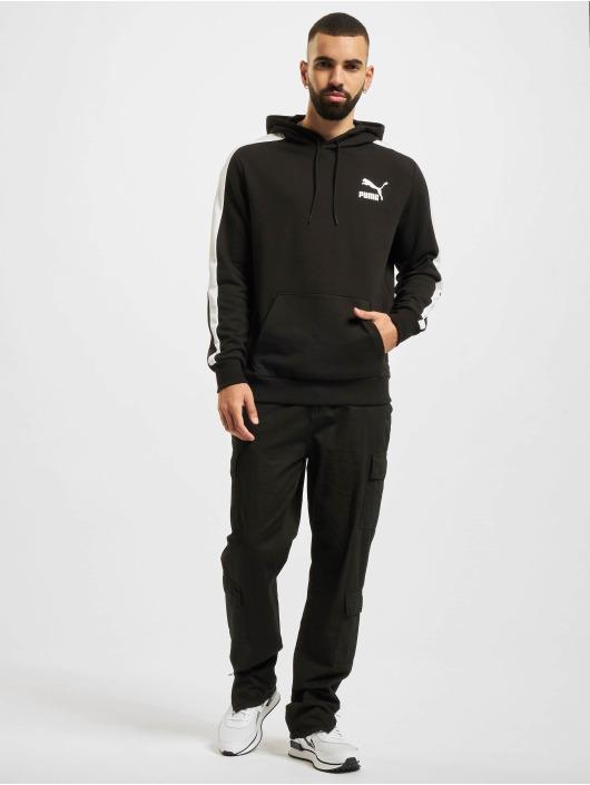 Puma Hoodies Iconic T7 čern