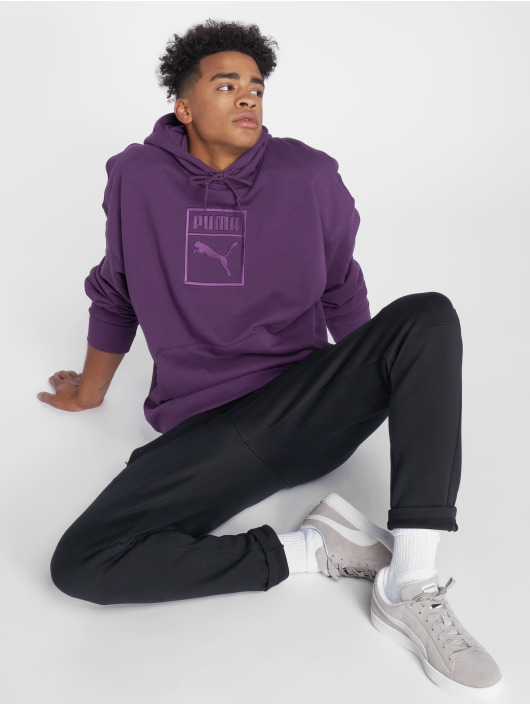 Puma Hoody Downtown Oversize paars