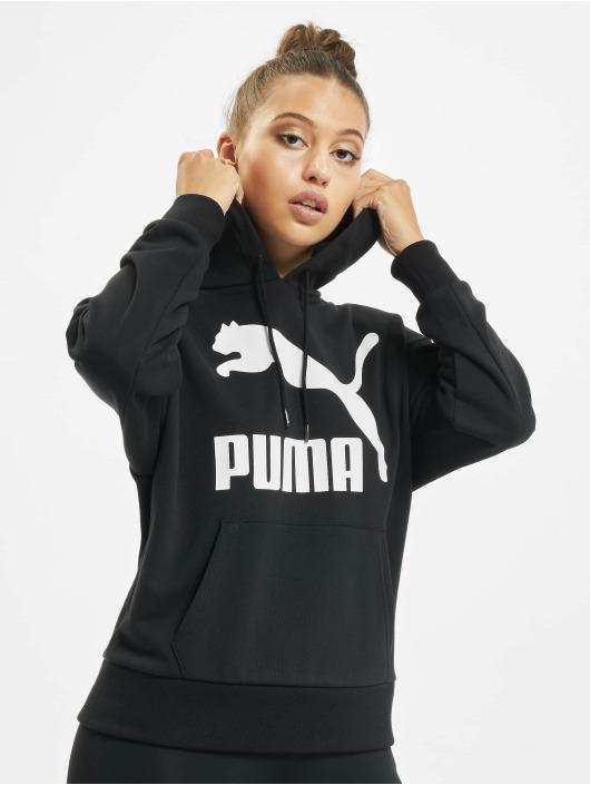 Puma Hoody Classics Logo schwarz