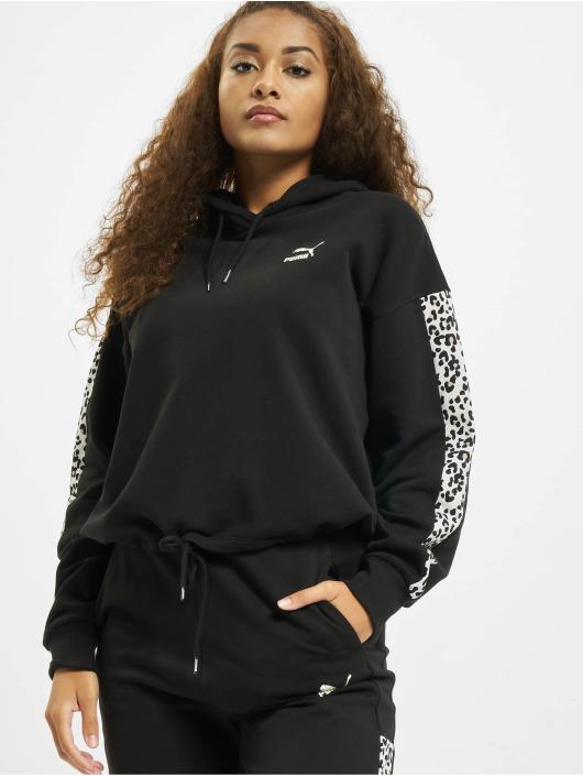 Puma Hoody Cropped schwarz