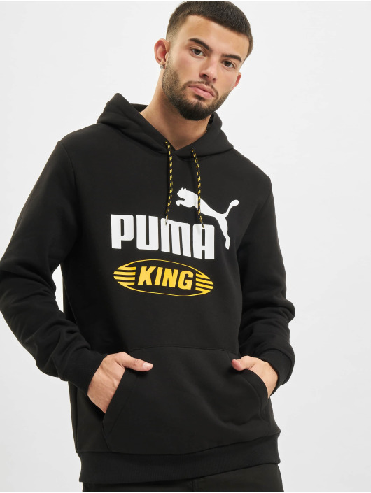 Puma Hoody Iconic King schwarz