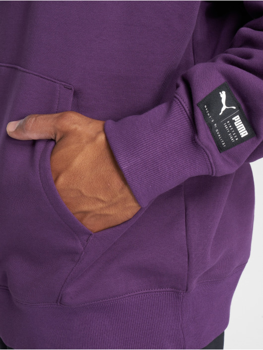 Puma Hoody Downtown Oversize violet