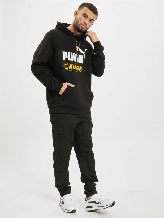 Puma Hoody Iconic King zwart