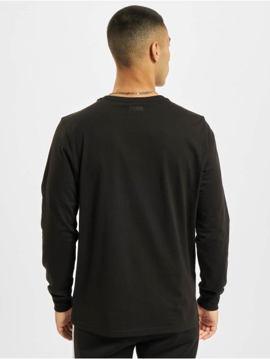 PUMA HOOPS T-Shirt manches longues Dylan 1 noir
