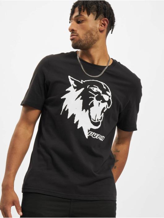 PUMA HOOPS T-Shirt Scouted schwarz