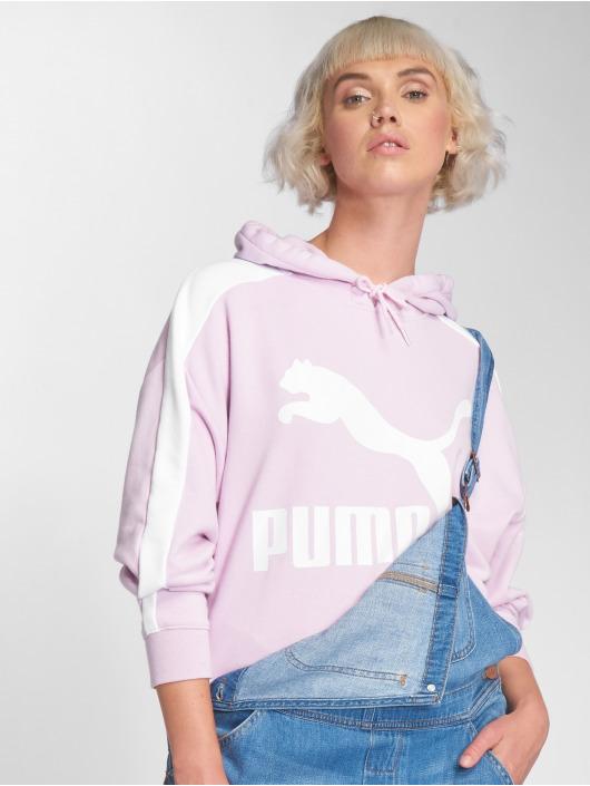 Puma Hupparit Logo T7 purpuranpunainen  Puma Hupparit Logo T7  purpuranpunainen ... 521caba35b